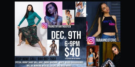 December Group Shoot! With Tiffany and Farah tickets