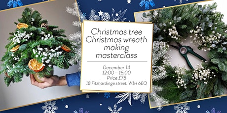 Christmas wreath / Christmas tree making WORKSHOP tickets