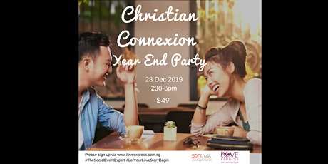 28 DEC: CHRISTIAN CONNEXION YEAR-END TEA-PARTY tickets