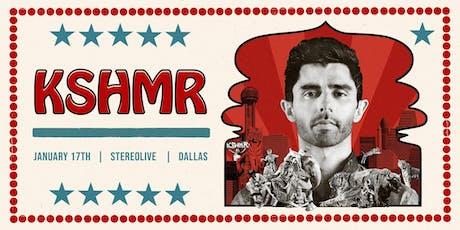 KSHMR - Stereo Live Dallas tickets