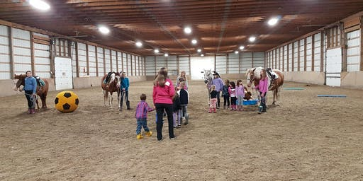 Winter Parent and Me Children's Riding Lessons