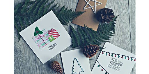Christmas Card Making for Mind