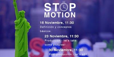 Workshop de StopMotion - Producción y captura de imágenes