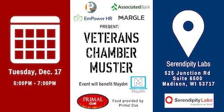 Madison Veterans Chamber Muster tickets