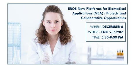 EROS New Platforms for Biomedical Applications : Projects and Collaborative tickets