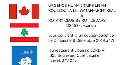 URGENCE Humanitaire - LIBAN tickets
