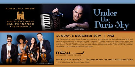 Under The Paris Sky | Musical Evenings at San Fernando Cathedral tickets