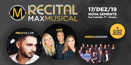 Recital Max Musical tickets