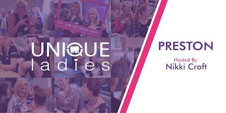 Unique Ladies Preston 2020 Year Booking tickets