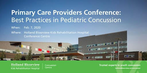 Best Practices in Pediatric Concussion for Primary Care Providers