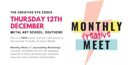 The Creative Eye Essex // December Monthly Meet - Journalling Workshop tickets