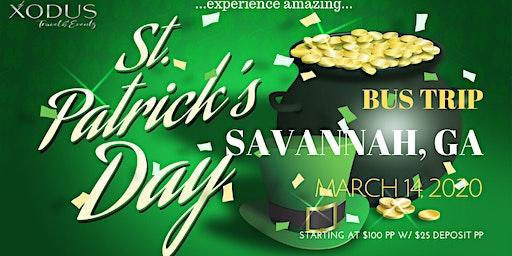 St. Patrick's Day Bus Trip to Savannah, Ga