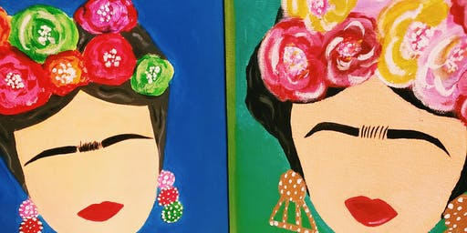 'Frida' Paint & Wine