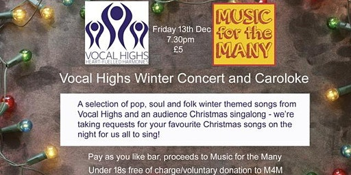 Vocal Highs And Guests Winter concert and Caroloke