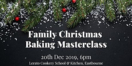 Family Christmas Baking Masterclass tickets