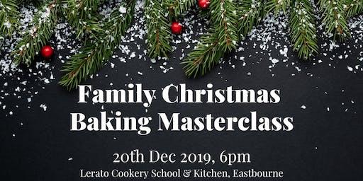 Family Christmas Baking Masterclass