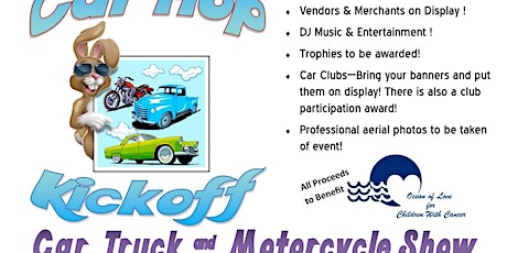 1st Annual Car Hop Kickoff Car, Truck, & Motorcycle Show tickets