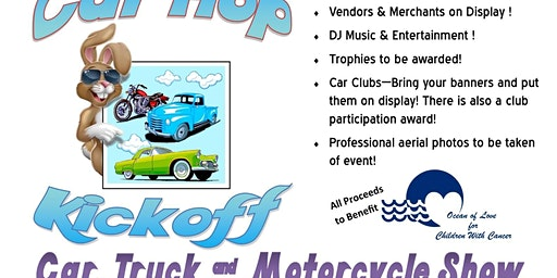 1st Annual Car Hop Kickoff Car, Truck, & Motorcycle Show