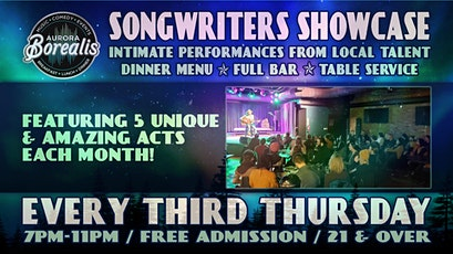 Songwriters Showcase: Intimate performances from local artists tickets