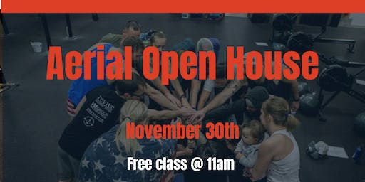 Aerial Open House