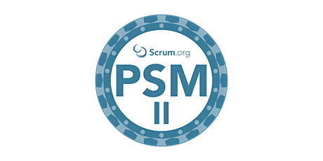 Official Scrum.org Professional Scrum Master II by John Coleman, a daily active practitioner at scale tickets