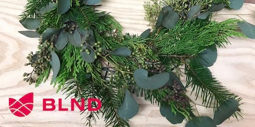 Wreath Relief - A Winter Wreath Workshop