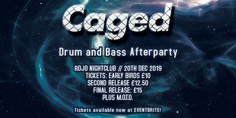 CAGED - Hip Hop Coffee Shop Sessions DnB Afterparty tickets