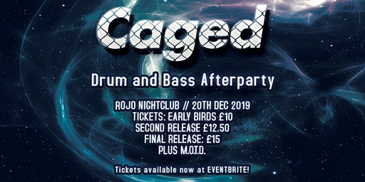 CAGED - Hip Hop Coffee Shop Sessions DnB Afterparty