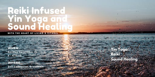 Reiki Infused Yin Yoga and Sound Healing