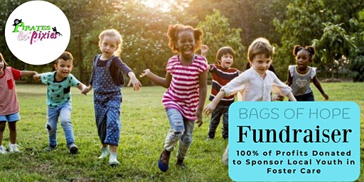 """Bags of Hope"" sponsored by Pirates & Pixies benefiting local foster families"