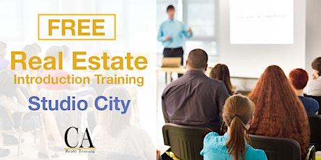 Free Real Estate Intro Session - Studio City (Mon.) tickets