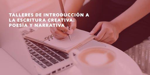 Talleres de introducción a la escritura creativa: Poesía y narrativa