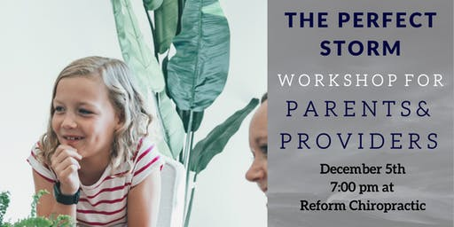 The Perfect Storm Workshop - Hope, Help, Answers