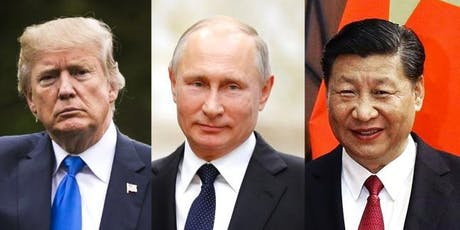 US, Russia and China: Power and Politics on the World Stage tickets