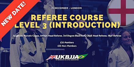 Brazilian Jiu Jitsu Referee Course - Level 3 (introduction) - England tickets