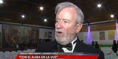 Noche de Lírica y Cena - El Show de los Tenores Latinos Miguel Angel Dappro
