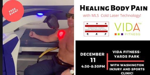 Healing body pain!