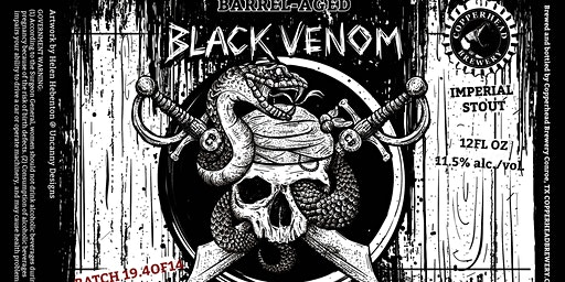 Barrel Aged Black Venom (Old Fitzgerald)