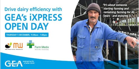 GEA's iXPRESS Open Day tickets