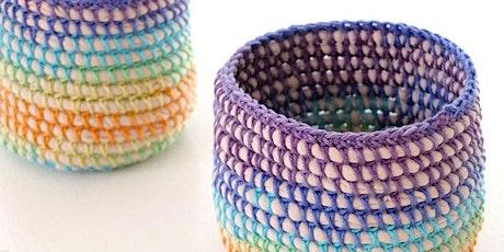 Creative Reuse Workshop: Basket Weaving w/ Internet Cords (ages 16+) tickets