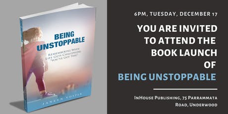 Invitation to Attend the Book Launch of 'Being Unstoppable' tickets