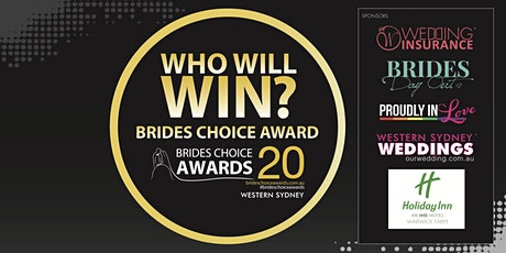 Western Sydney Brides Choice Awards Gala Cocktail Party 2020 tickets