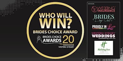 Western Sydney Brides Choice Awards Gala Cocktail Party 2020