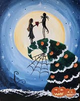 Jack & Sally Happy Hour Paint with Lori Antoinette