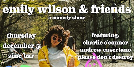 Emily Wilson & Friends tickets