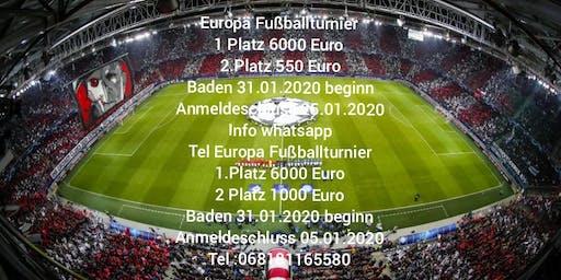 Europa Fußballturnier 2020