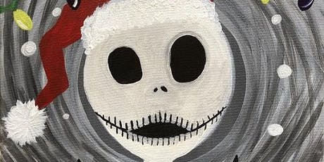 "Recreate this Nightmare Before Christmas painting, ""Jack's Christmas"" tickets"