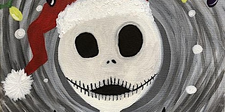 """Recreate this Nightmare Before Christmas painting, """"Jack's Christmas"""" tickets"""