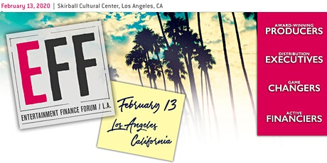 Entertainment Finance Forum 2020 tickets