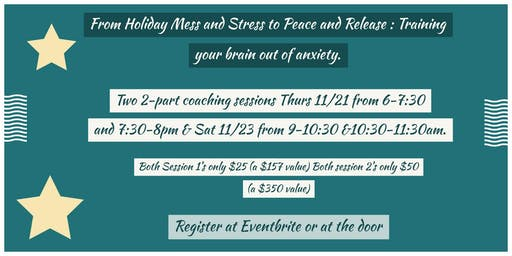 Holiday Healing Summit: Healing from Stress and Mess to Peace and Release